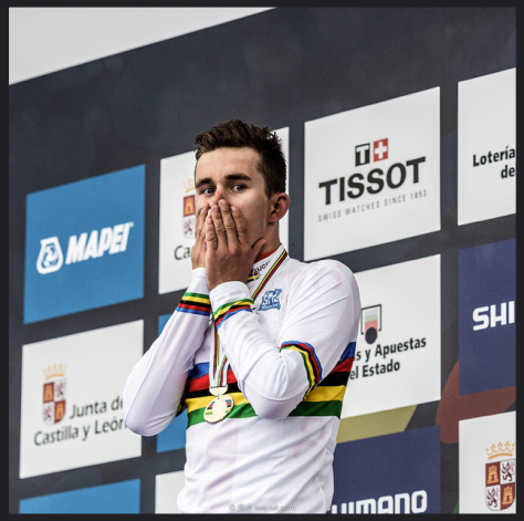 Kwiatkowski discovers he's just won TWO VeloVoices Awards (Image: Wei Yuet Wong)