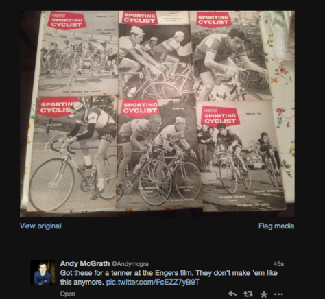 G OLD CYCLING MAGS