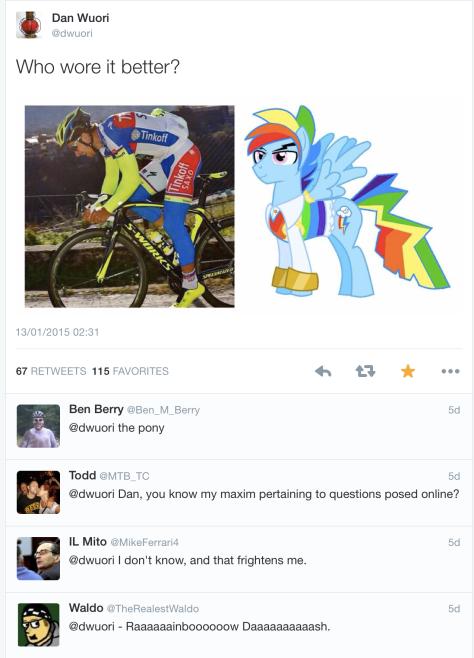 G Sagan pony