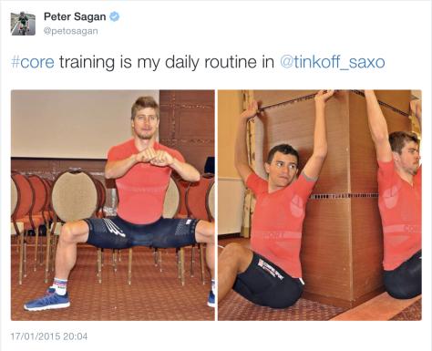 G Tinkoff training 1