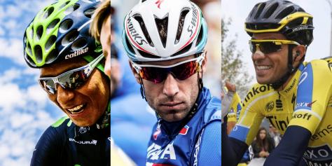 Three grand tours, three different winners in 2014