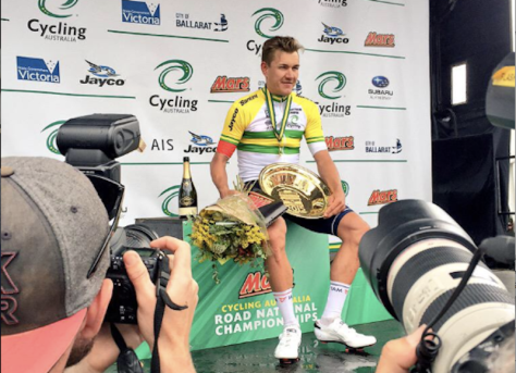 Watch out for Haussler's Aussie national colours - he could feature in several stages