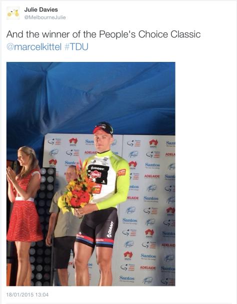 TDU Marcel win