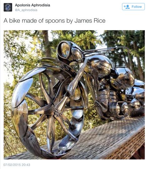 G Bike spoons