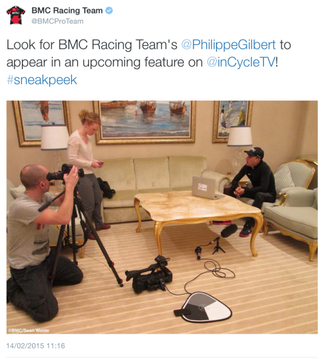 G BMC Gilbert interview