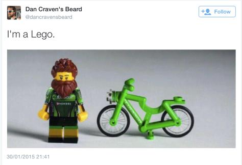 G Craven lego beard