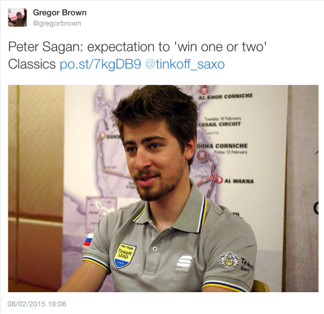 G Sagan managing expectiations
