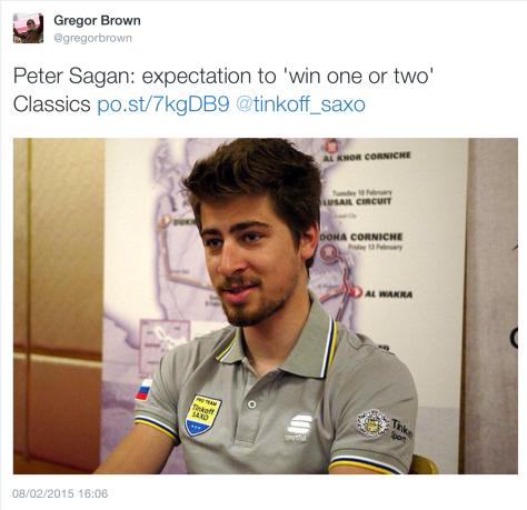 G Sagan managing expectiations