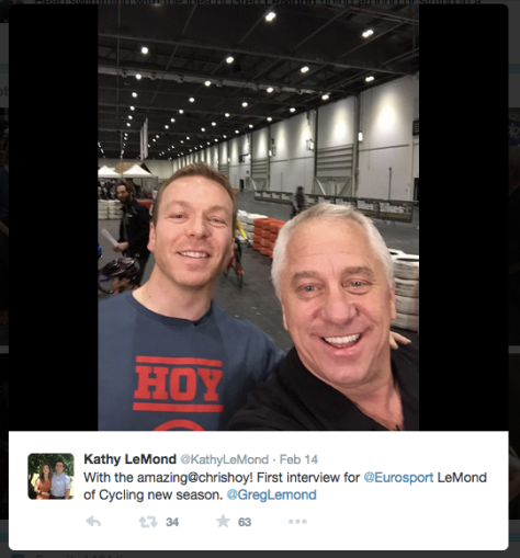Lemond Hoy selfie