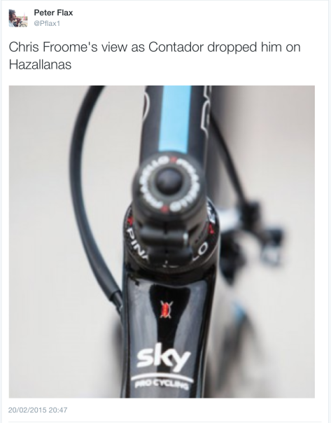 RdS Froome stem