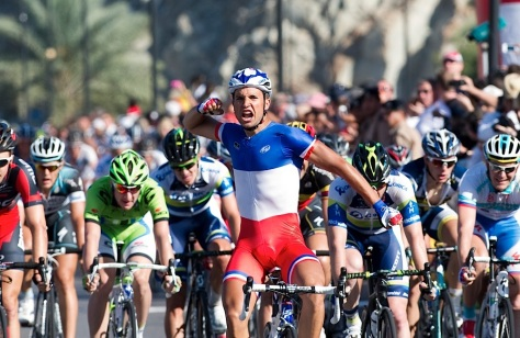 Nacer records first 2013 victory on stage 6 in Oman (image: Lloyd Images/Muscat Municipality)