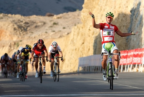 Second consecutive victory for the Velvet Samurai on 2013 Tour of Oman stage 3 (image: Lloyd Images/Muscat Municipality)