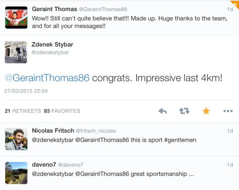 E3 Stybar congrats