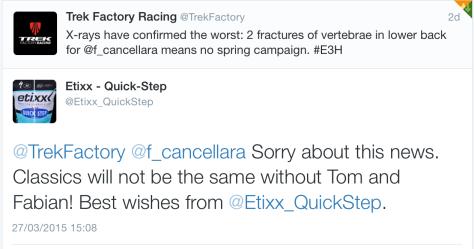 FC TB Etixx message