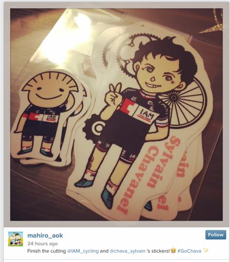 G Chava stickers