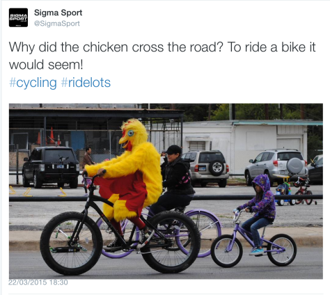 G chicken bike