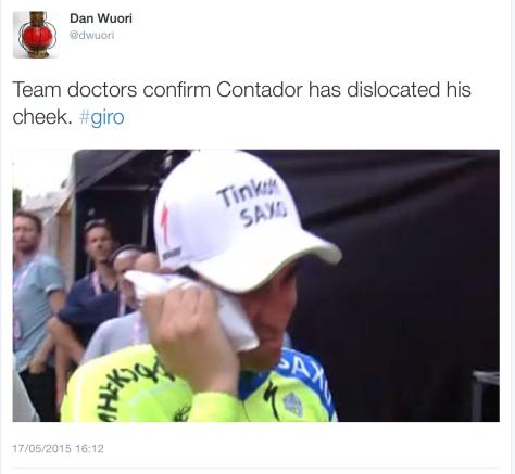 Contador injury 5