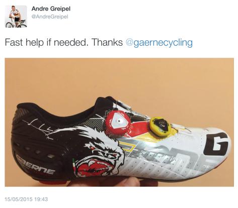 G Gorilla shoe
