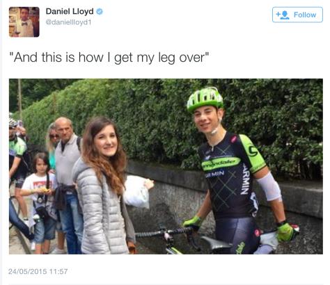 G leg over