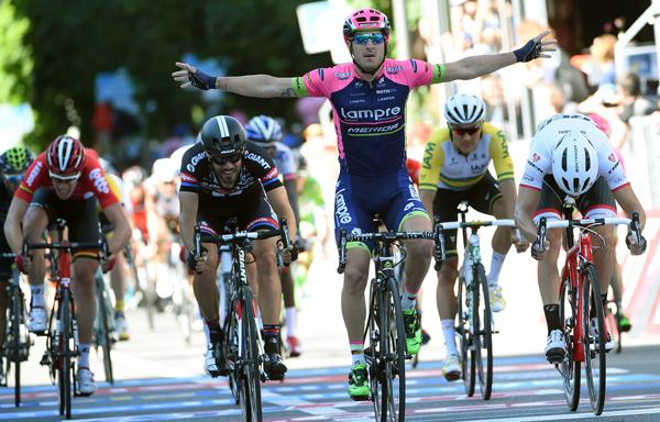 Giro 2015 stage 17 Sacha Modolo Giro