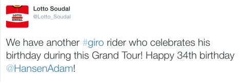 Giro Hansen 5