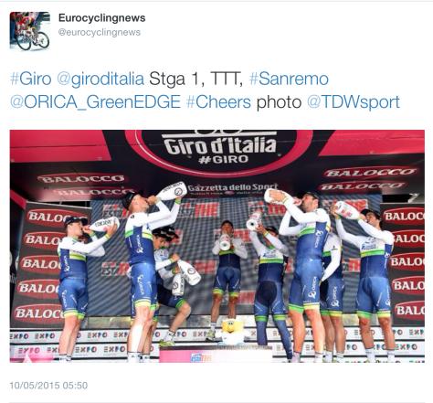 Giro TTT win 2