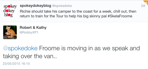 Richie RV Froome