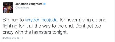 Giro done hamsters