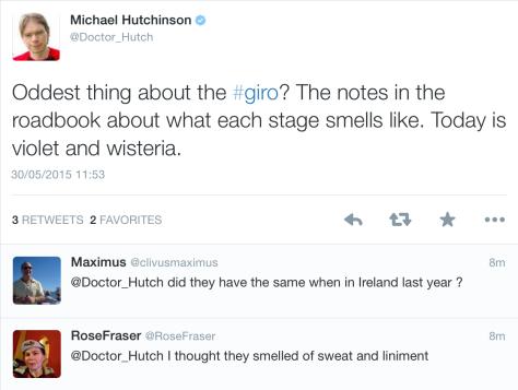 Giro smells