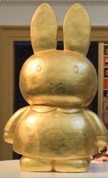 Miffy reinvented as a golden Budda (image: Utrecht Press Pack)