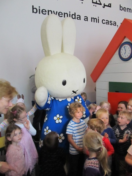 Miffy: enduringly popular with children (image: Utrecht Press Pack)