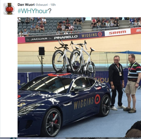 Wiggins start car Bruyneel