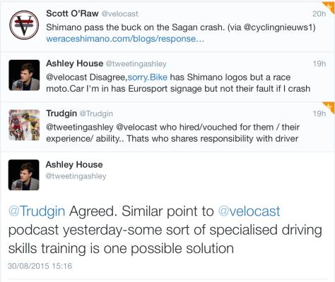 Crash Sagan driving 1