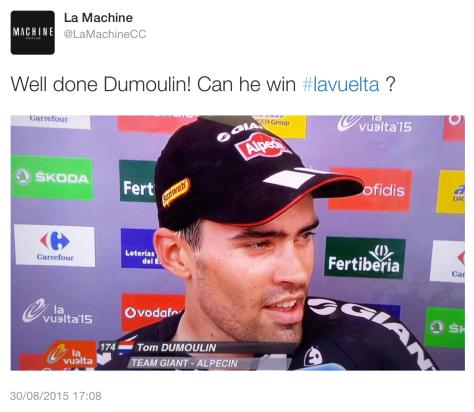 Dumoulin win 2