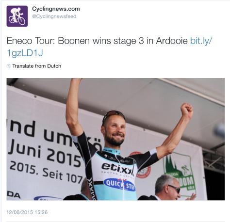 Eneco Boonen 1