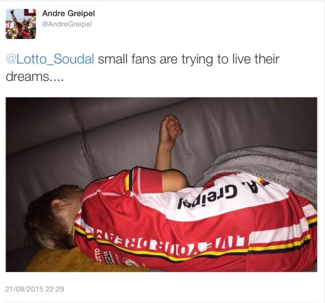 G Greipel small fans