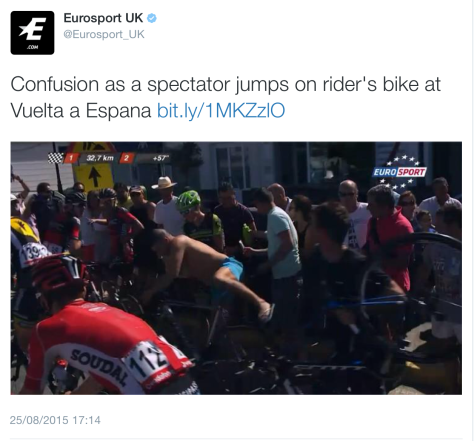 G spectator bike