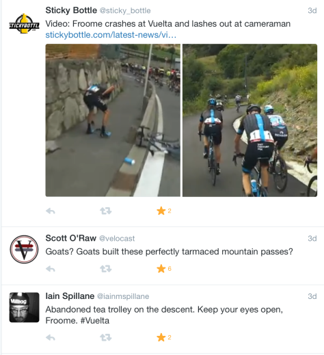 Froome fall