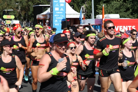 Undies run raised A$150k for bowel cancer