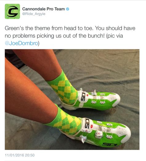 G argyle socks
