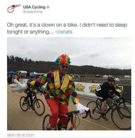 G Clowns bike