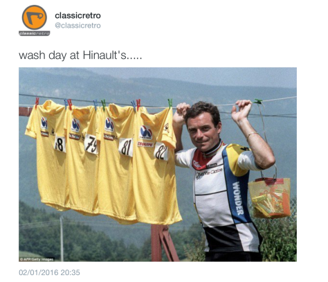G Hinault washing