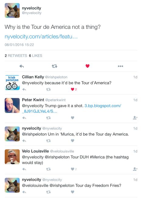 Tour of America 1