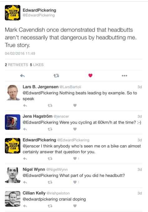DT Cav headbutt