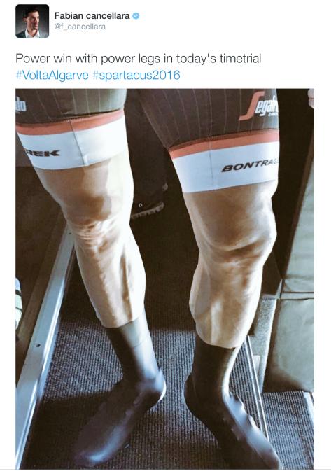 Fabs race legs