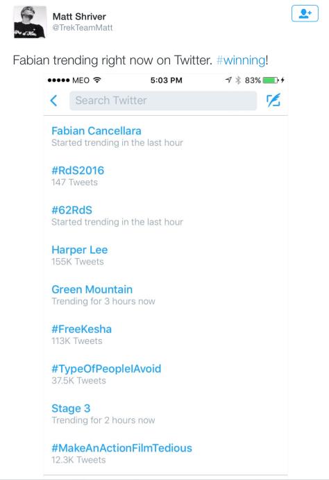 Fabs trending