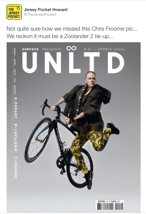 G Froome zoolander