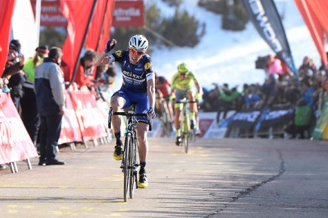The spoils on stage 3 for Dan Martin (image: Etixx-Quick Step)