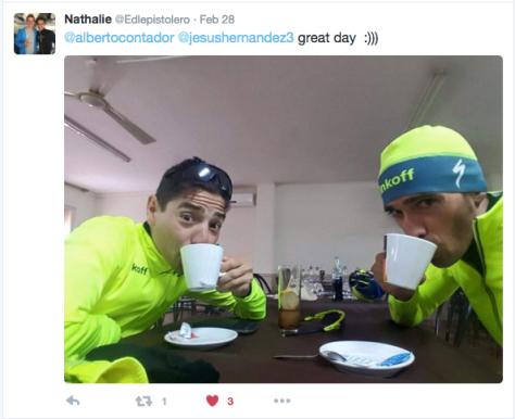 G Contador coffee