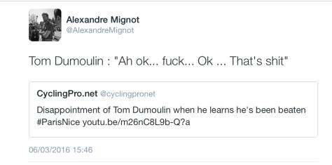 G Dumoulin shit